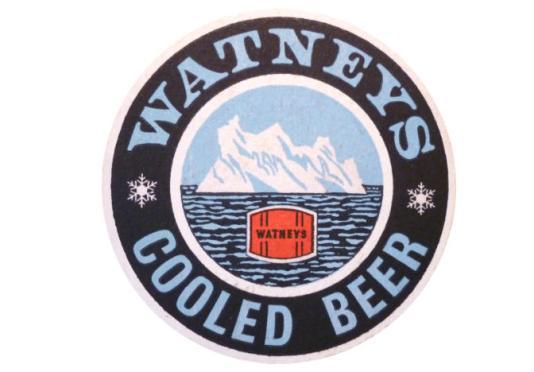 Beer Mat: Watney's Cooled Beer.