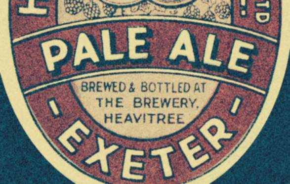 Heavitree Pale Ale label.