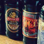 Banks, Holden and Blue Monkey milds.