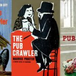 Various covers for 'The Pub Crawler'.