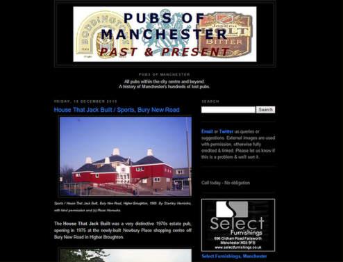 Screenshot: Pubs of Manchester.