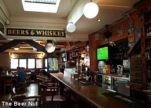 W.J. Kavanagh's -- bar view.