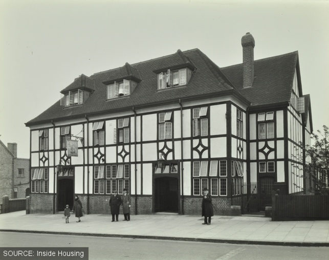 The Fellowship Inn when it was new.