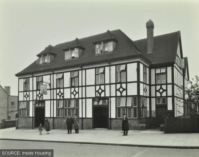 The Fellowship Inn when it was new.