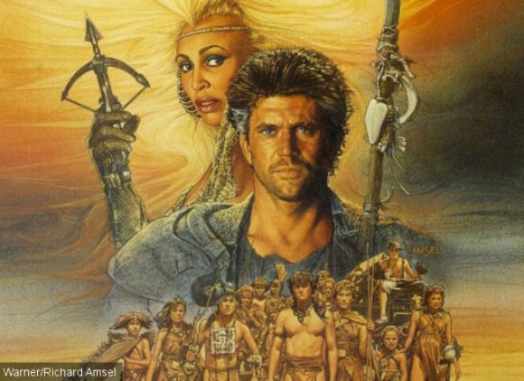 Detail from Mad Max 3 poster.