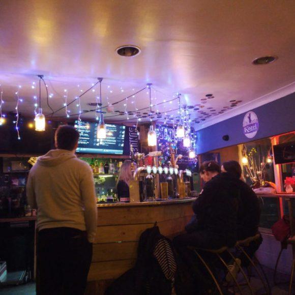 The bar at Sonder.