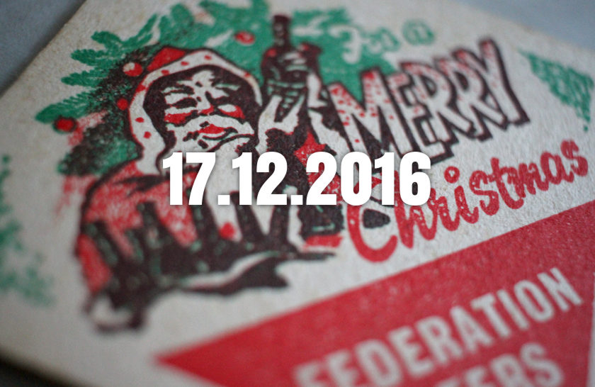 News, Nuggets & Longreads 17 December 2016: Revitalisation, Raw Ale, Rebel