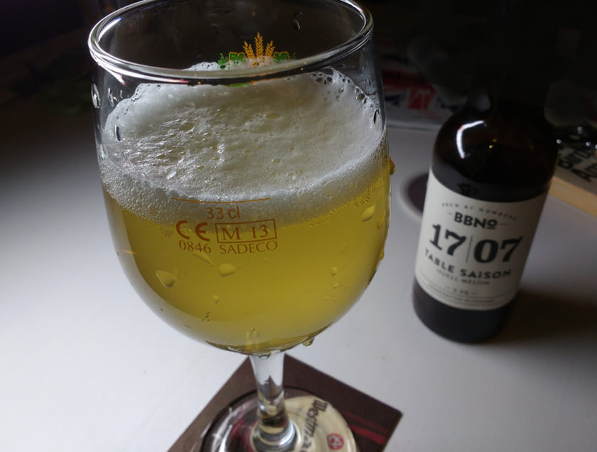 QUICK REVIEW: Small Saison With German Hops and a British Accent