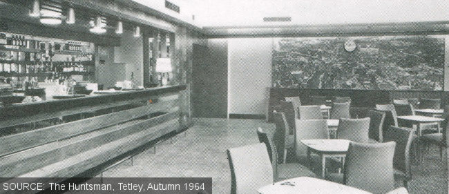 The lounge at The Ebor, Burmantofts, Leeds.