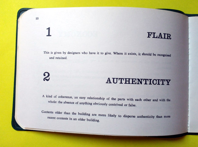 Page 10: Flair and Authenticity.