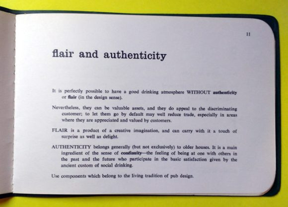 Page 11: Flair & Authenticity checklist.