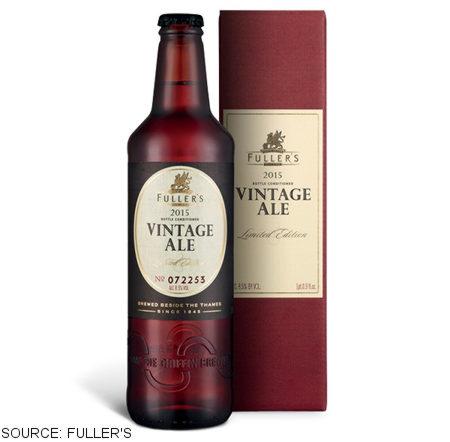 Fuller's Vintage Ale 2016.