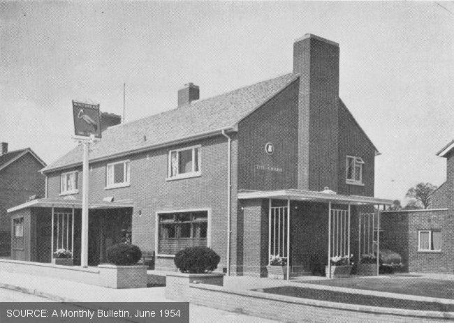 The Crane, Basildon -- exterior shot.