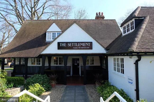 The Skittles Inn, AKA The Settlement.