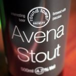 The label on a bottle of Avena Stout