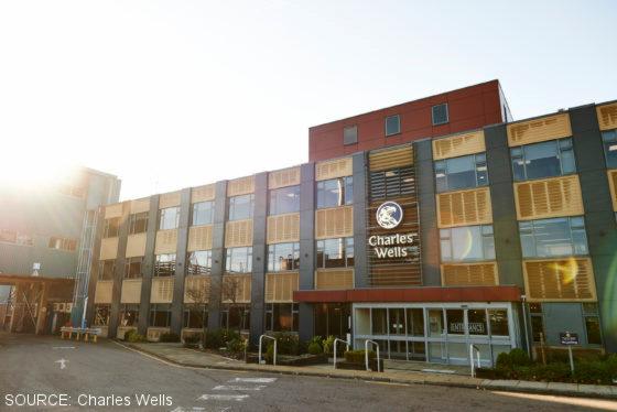 Charles Wells brewery.