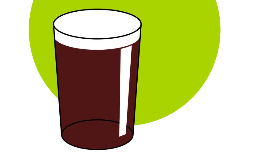 A half of mild ale.
