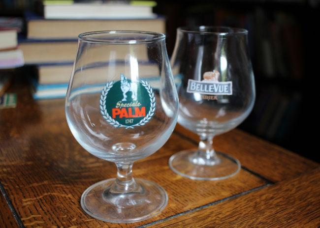 Fancy glassware.