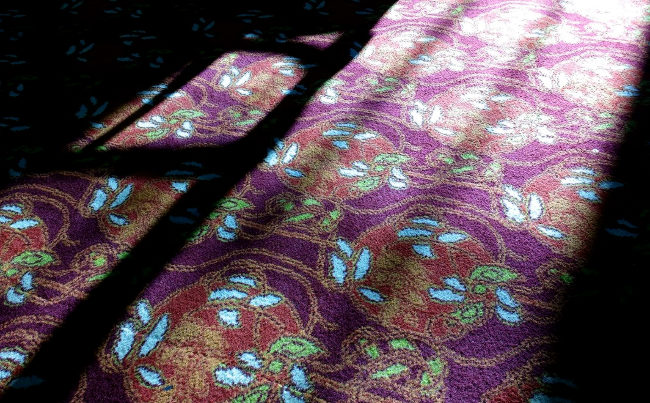 The carpet at the Imperial, Exeter.