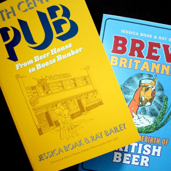 Competition prizes: 20th Century Pub and Brew Britannia, new edition.