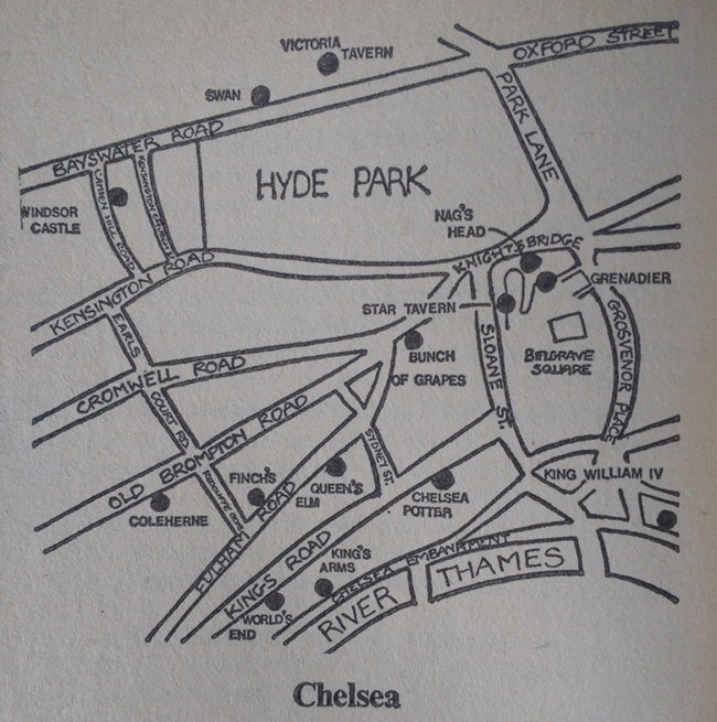 The book's map of Chelsea.