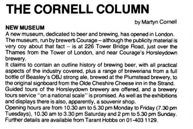The Cornell Column, June 1980.