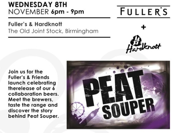 Ad for the Fuller's/Hardknott beer launch.