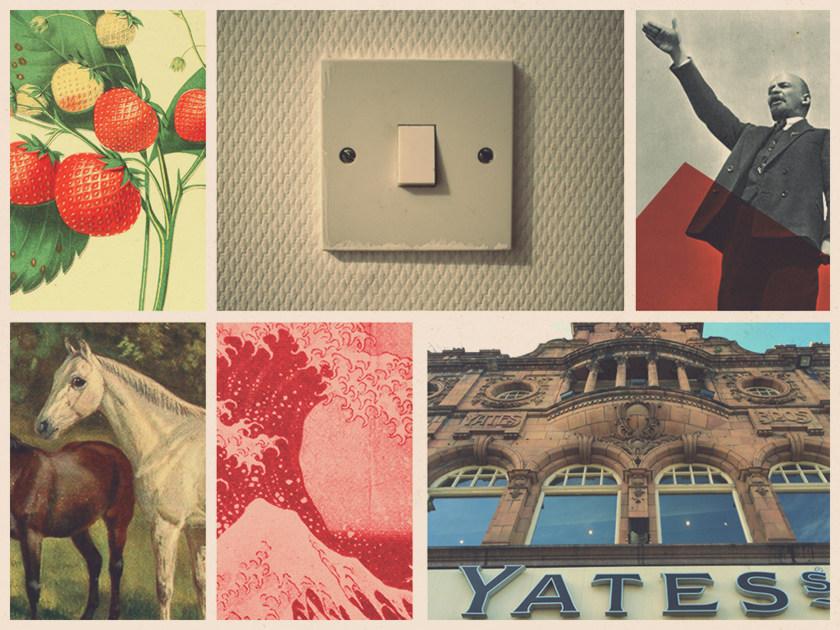 Collage: euphemisms.