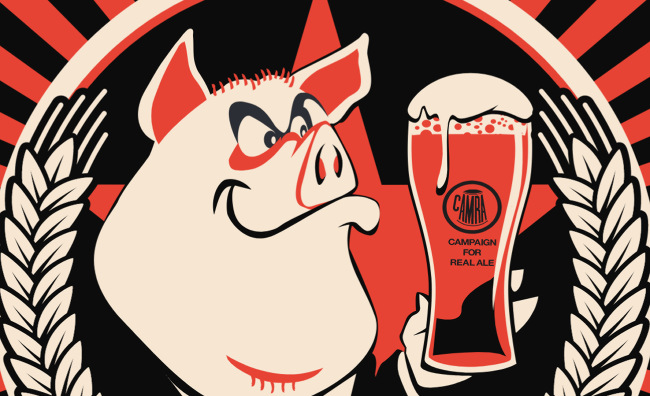 Detail from the poster for the 2017 Pigs Ear festival.