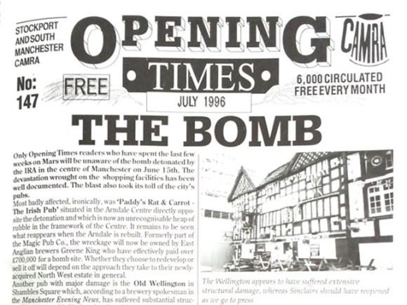 """Headline: """"THE BOMB""""."""
