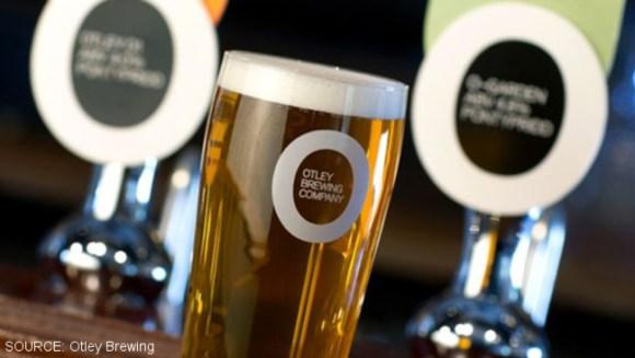 Otley brewery publicity photo.