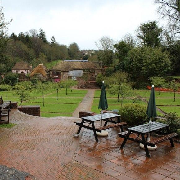 Garden at the Drum, Cockington.