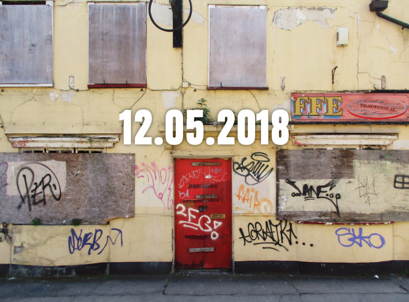 A derelict pub in Bristol.
