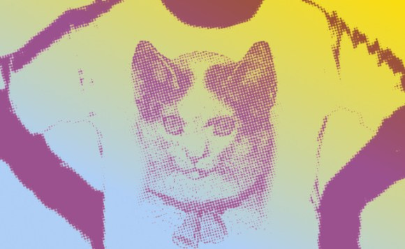 Illustration: Cat T-Shirt