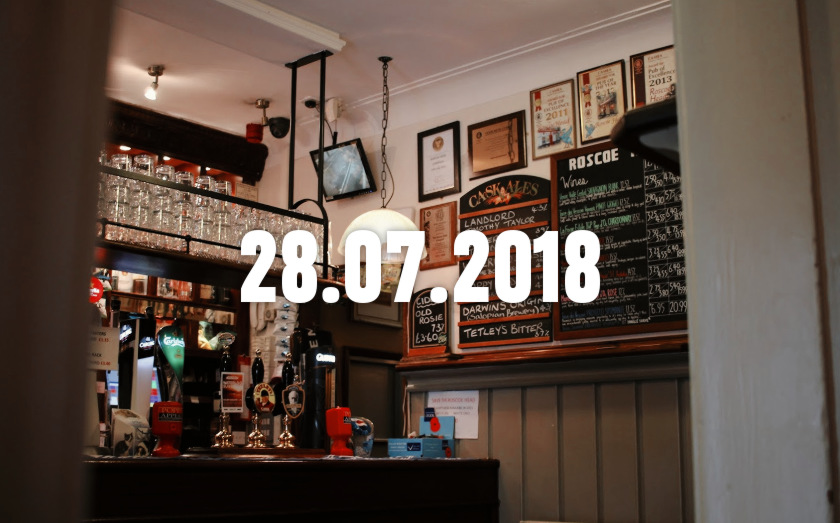 News, Nuggets & Longreads for 28 July 2018: Blackburn, Belfast, Banked Bass