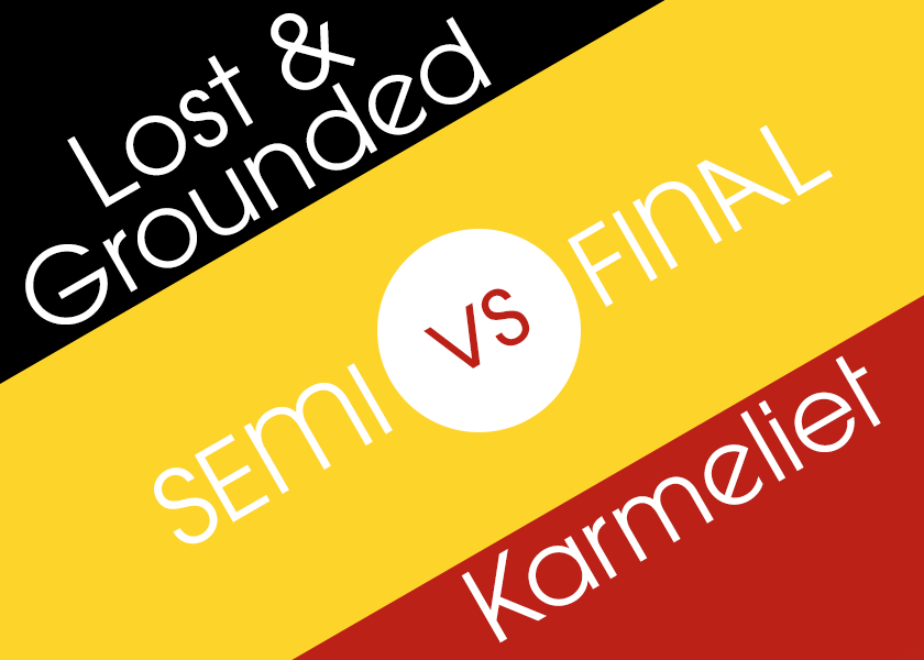 Graphic: Lost & Grounded vs Karmeliet