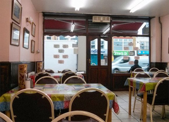 Greasy spoon cafe, Bethnal Green.