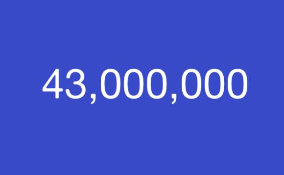 43,000,000