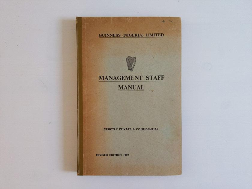 Management Staff Manual.