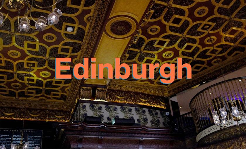 Scotland #2: A tiny taster of Edinburgh