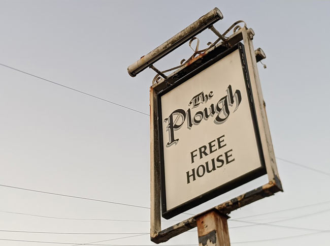 The Plough (sign)