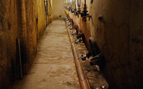 Czech beer cellar.