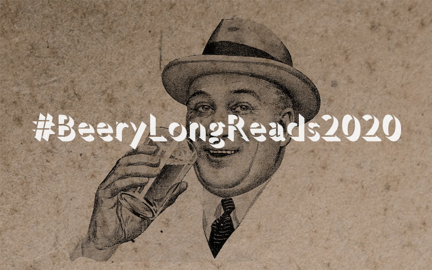 Title card: BeeryLongReads2020