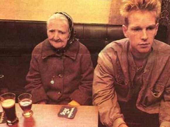 Depeche Mode in a pub.