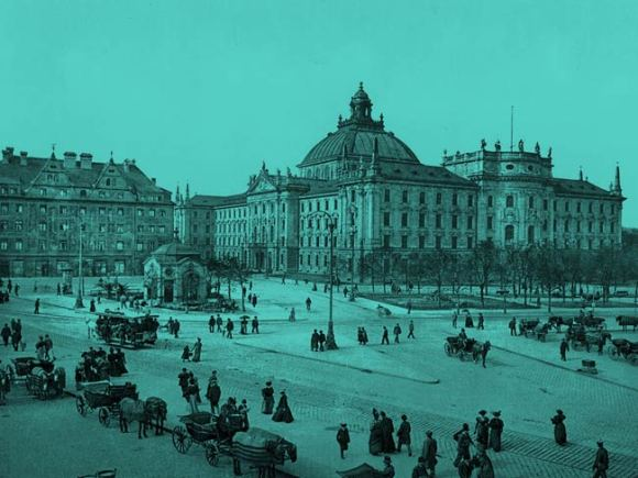 Munich in the 19th century.