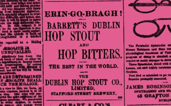 Dublin hop stout.