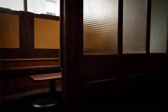 A snug bar.