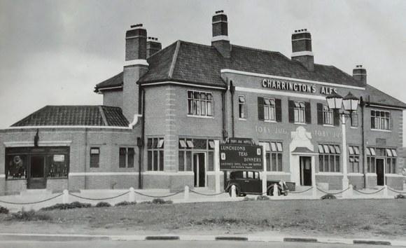 A massive inter-war pub.