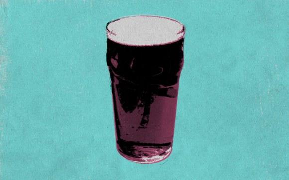 Illustration: a pint glass.