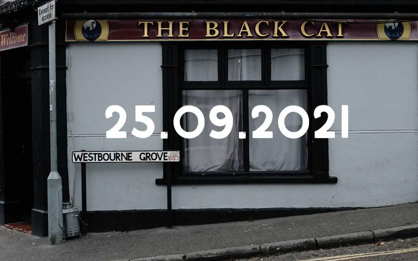 The Black Cat pub, Bedminster, Bristol.
